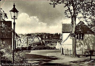 Sonderburg Dänemark Danmark ~1960/65 Brücke Udsigt mod Dybbol Straßen Partie