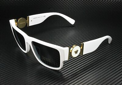 VERSACE VE4369A 401 87 White Grey 58 mm Men's Sunglasses