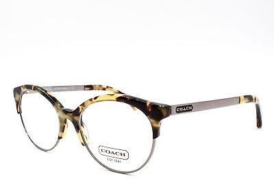 COACH HC 5034 9129 Lourdes Eyeglasses Frames Glasses Dark Vintage Tortoise ~51mm