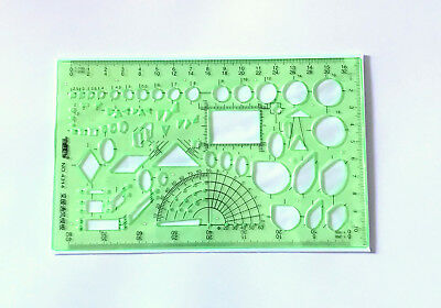 New Drawing Template Drafting Geometric Ruler Project Management Projector Art