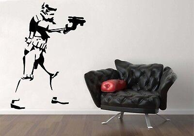 STAR WARS STORM TROOPER Wall Art Bedroom Living Room Vinyl Decal Sticker Mural