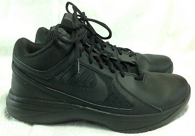 (Nike 637382-001 Overplay VIII Basketball Shoes Size US 8 - Excellent Used Cond)