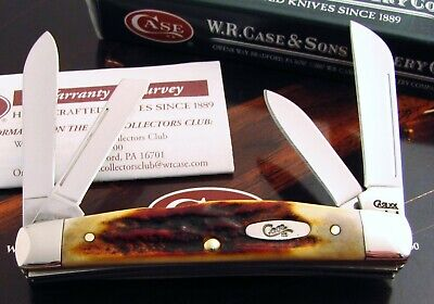 Case Red Stag Congress Knife 2008 Spectacular Red Stag Handles A KNOCKOUT! NR