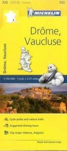 Drome-Vaucluse-France-Local-Map-332-by-Michelin-Travel-Publications-Sheet