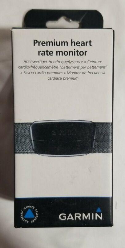 Garmin Premium Heart Rate Monitor Unisex Sports Watch (Open Box)