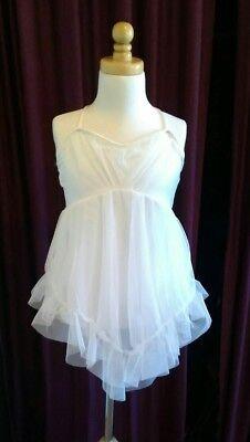 Curtain Call White Dress Child ME