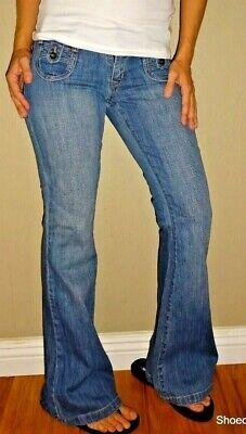 Old Navy Diva | Vintage Denim Flare Bottom Jeans | 0
