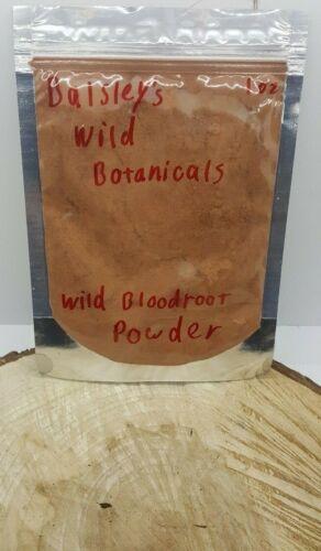 Wild Organic PA BloodRoot Powder (Sanguinaria canadensis) CHOOSE YOUR AMOUNT :)