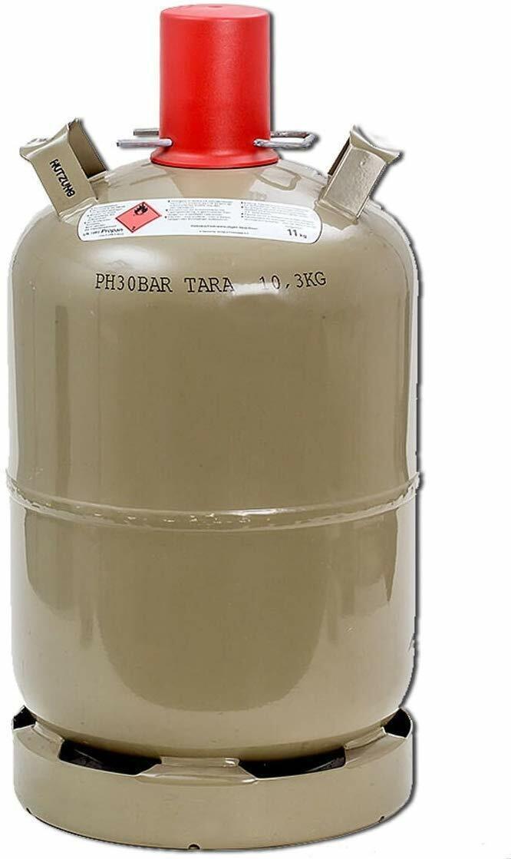 Propangasflasche 11 KG, leer NEU, 10 J. MEGASPECIAL Knallerpreis