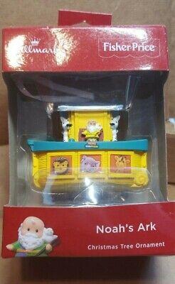 Hallmark Ornament Walmart Exclusive 2018 Fisher-Price Noah's Ark