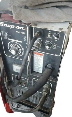 Snap On Welder Mm250sl Used Mask Gloves 240 Voltage Mig Tools