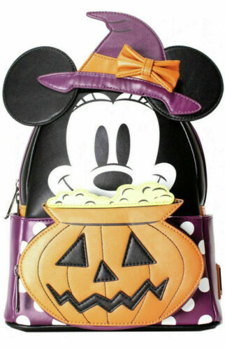 Loungefly x LASR Exclusive Disney Minnie Witch Cosplay Mini Backpack (FAST SHIP)