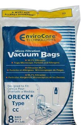 - Oreck type CC Micro Filtration Vacuum Cleaner Bags (8 pack) - Generic