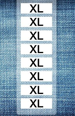 Wrap Around Clothing Size Label Kit Sizes S-xxl Supply Your Store By Size