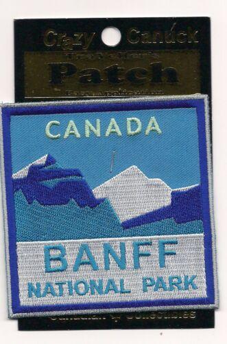 Banff National Park Alberta Souvenir Patch