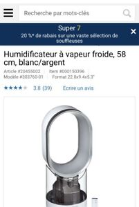 Humidificateur Dyson BRAND NEW