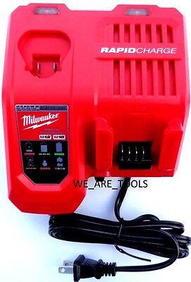 New RAPID GENUINE Milwaukee M12 M18 18V 48-59-1808 Battery Charger 12 18 Volt