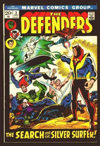 Marvel Comics The DEFENDERS #2 Dr. Strange Sub-Mariner Hulk FN/VFN 7.0
