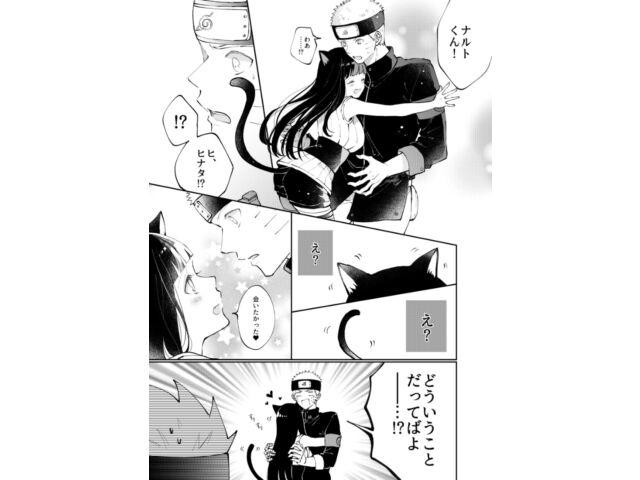 NARUTO X HINATA Doujinshi (B5 46pages) My sweet little kitty Pink December Ting