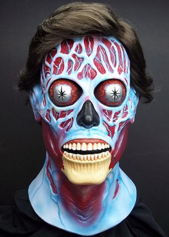 They Live Alien Mask Cult Classic Full Head Latex Adult Halloween Mask