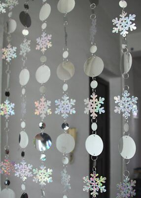 Snowflake Hanging decorations, winter wonderland, frozen fever party, evesCR