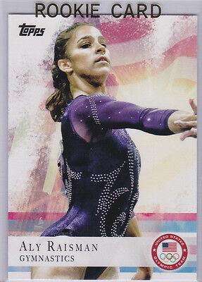 feea99a3a10c6 ALY RAISMAN ROOKIE CARD Team USA Gynastics OLYMPICS GOLD Rio London RARE  HOT RC!