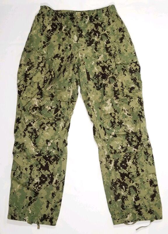 US NWU Type III Pants/Trouser AOR2 Digital Woodland Navy Working Uniform RIPSTOP