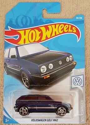 Hot Wheels Volkswagen Golf Mk 2