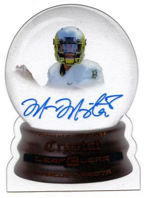 Marcus Mariotta #CC-MM1 signed autograph auto 2015 Leaf Crystal Clear Football