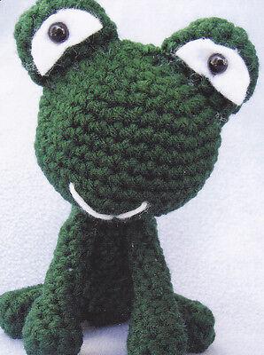 - Crochet Pattern ~ BIG HEADED FROG Stuffed Animal Kids Toy ~ Instructions
