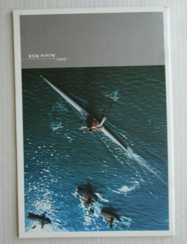 2005 Acura NSX Dealer Advertising Brochure-Paperback-Near Mint-Photo/Specs/Color