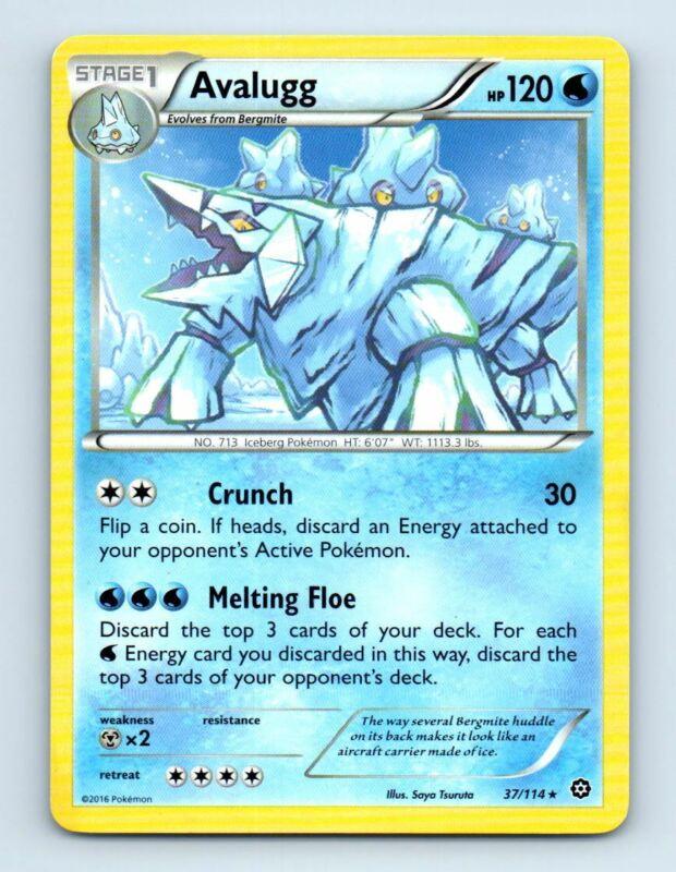 SM06-030 4x Avalugg Rare Pokemon Forbidden Light Card # 30