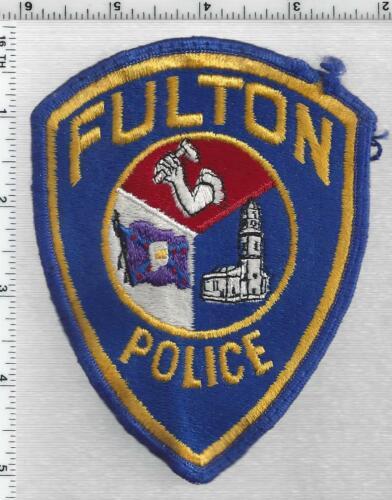 Fulton Police (Missouri) 1st Issue Uniform Take-Off Shoulder Patch