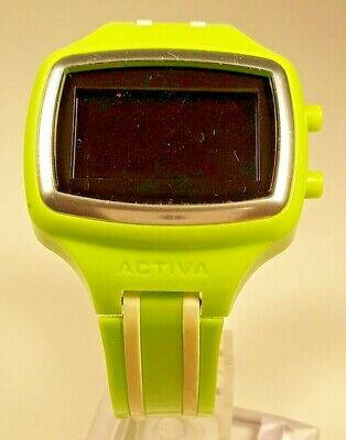 Activa By Invicta Unisex Wrist Watch with Striped Multi-Colored Band New Battery