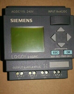 Siemens Logo 230rc 6ed1-052-1fb00-0ba4