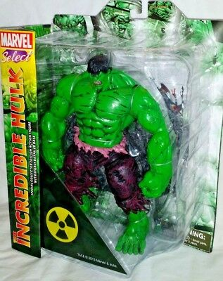 MIP Marvel Diamond Select INCREDIBLE GREEN HULK Avenger Legends 9