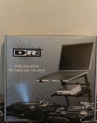 DR Pro DJ Laptop Stand and Shelf Bundle Black. BRAND NEW IN BOX! NIB. Best