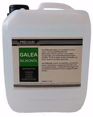 Silikonöl  Latexpflege und Anziehhilfe 5 liter PREMIUM
