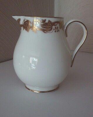 Wedgwood England Whitehall White Gold Leaves Trim (W4001)  Creamer Bone China  ()