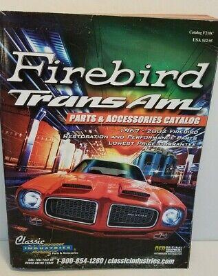 FIREBIRD TRANS AM PARTS AND ACCESSORIES CATALOG 1967-2002 #F218C