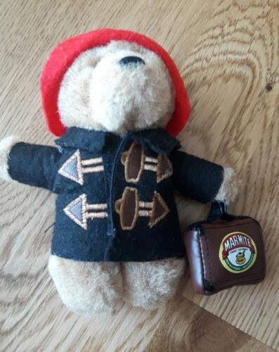 Limited Edition Marmite Paddington Bear With Suitcase Promotional Soft Toy 5.5