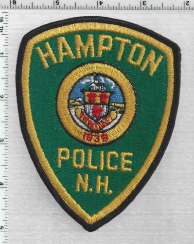 Hampton Police (New Hampshire) 2nd Issue Shoulder Patch