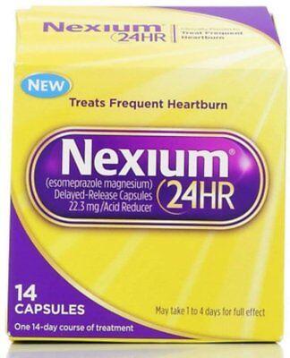 Nexium 24HR Capsules 14 ea (Pack of 6)