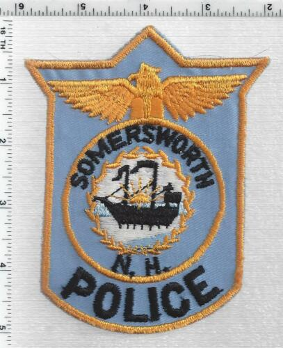 Somersworth Police (New Hampshire) 3rd Issue Shoulder Patch
