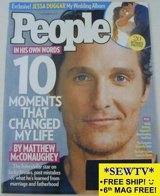 New Ish People November 17  2014   Matthew Mcconaughey  Jessa Duggar Wedding