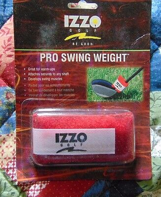 Купить NEW IZZO Golf Pro Swing Weight, Red