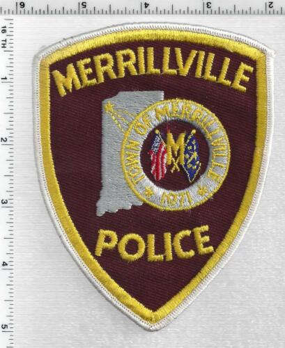 Merrillville Police (Indiana) 1st Issue Shoulder Patch