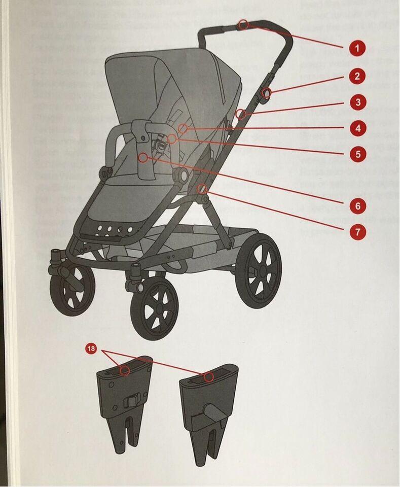 Britax Go Big Kinderwagen / Baby-Safe Adapter in Berlin - Prenzlauer Berg