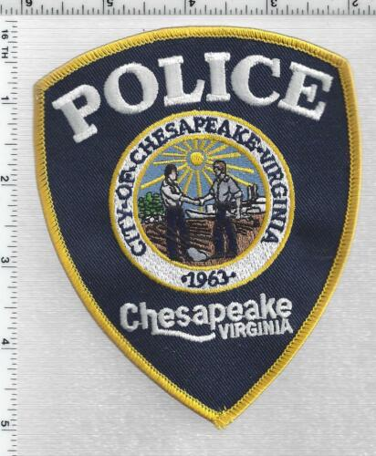 City of Chesapeake Police (Virginia) 4th Issue Shoulder Patch