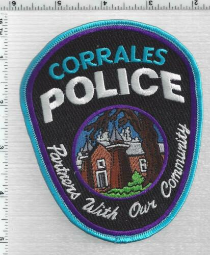Corrales Police (New Mexico) 3rd Issue Shoulder Patch